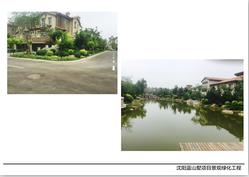 沈阳蓝山墅项目景观绿化工程